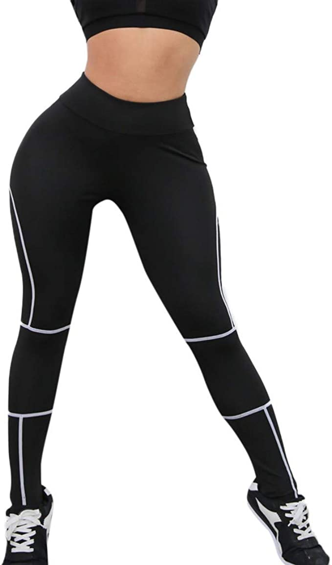 Oyedens Leggins Sportivi Donna 2019 Moda Abbigliamento Donna Yoga Pantaloni Allenamento Palestra Fitness Esercizio Leggings Atletico Pantaloni Tuta Pilates Jogging Pantaloni Yoga da Donna
