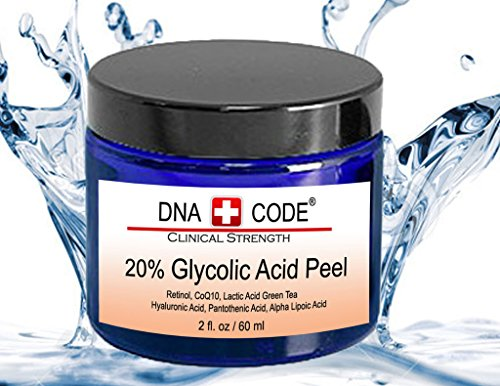 DNA Code®- 20% Glycolic Acid Cell Renewal Peel w/ Retinol,