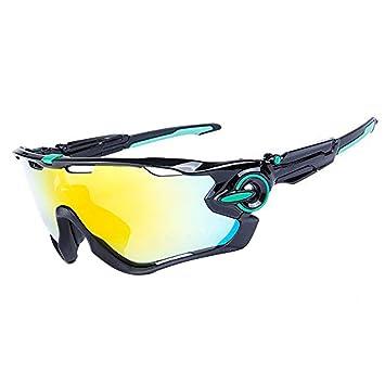 Amazon.com: Gafas de sol polarizadas para ciclismo y deporte ...