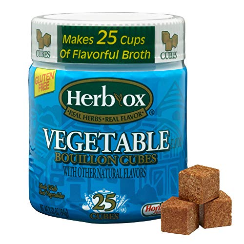 Herb-Ox Vegetable Bouillon Cubes, 3.25 Ounce