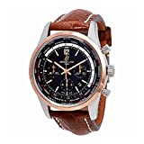 Breitling Transocean Unitime Pilot World Time Chronograph Automatic Chronometer Black Dial Mens Watch UB0510U4/BC26