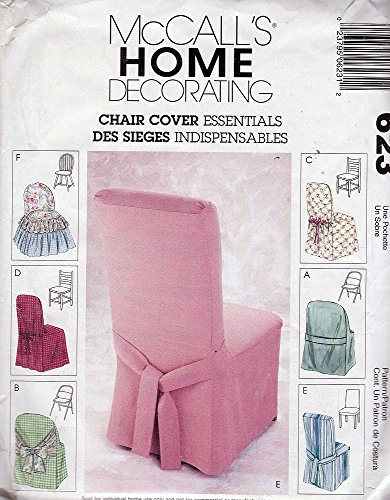 McCall's Home Decorating 623 ©2001 Chair Cover Essentials
