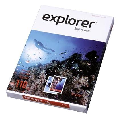 EXPLORER - Papel blanco multiusos para impresora - A4 110gr ...