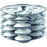 Prestige Stainless Steel Idli Plates, 5 litres, Silver