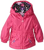 London Fog Baby Girls' Reversible Jacket, Pink, 18 Months