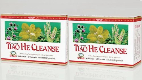 Naturessunshine Tiao He Cleanse Supports Intestinal Regularity 15 Days Supply (Pack of 2) Review