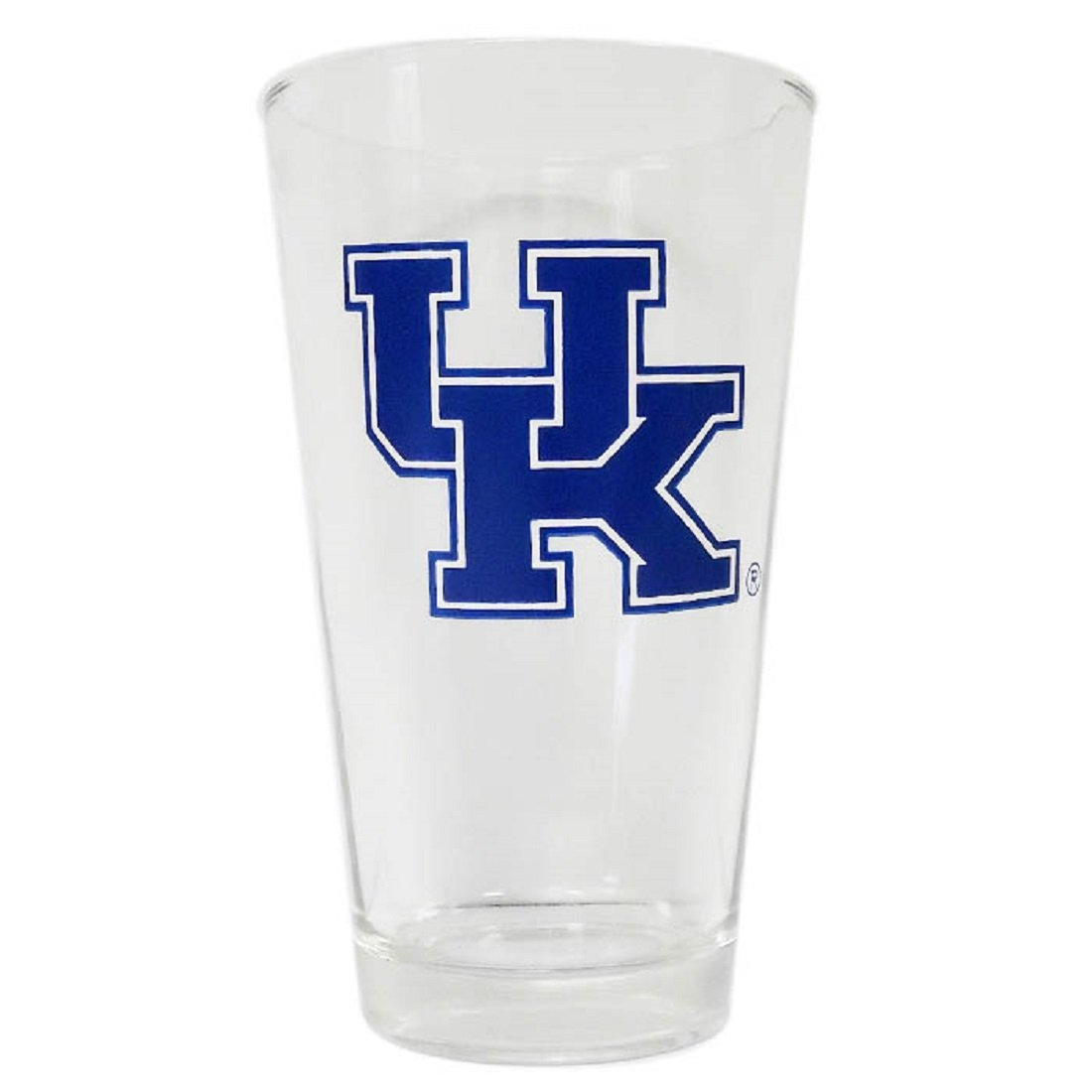 Sports Team Accessories Kentucky Wildcats 16 Ounce Beverage Glass with Logo