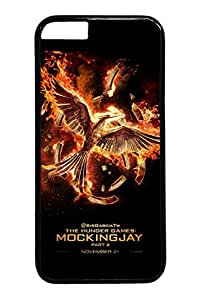 iPhone 6 plus Case, 6 plus Case - Fashion Design Black Hard Case Cover for iPhone 6 plus Mockingjay Part 2 The Hunger Games 2 Anti-Scratch Hard Back Case for iPhone 6 plus Case 5.5 Inches