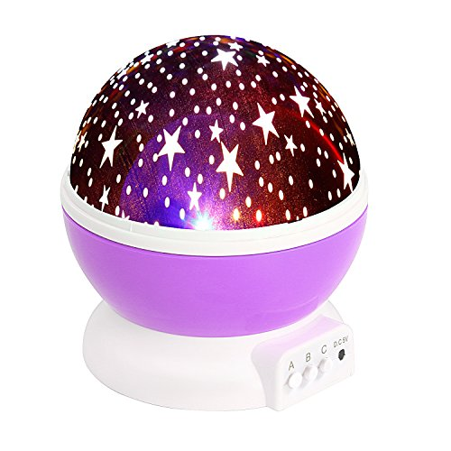 LESHP Romantic Nightlight Projector Christmas