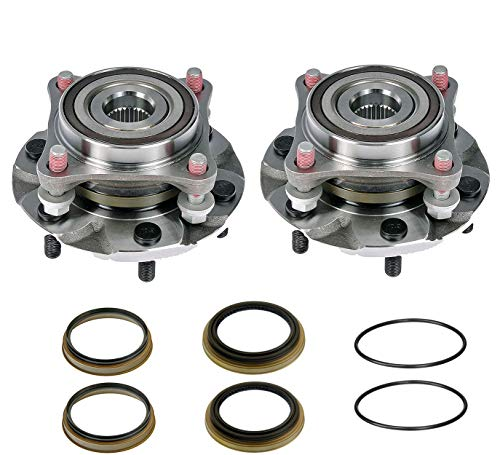 2 Complete Hub Bearing Assemblies With Seals - Brand New With Studs Fits 4WD Tacoma 4 Runner Lexus GX470 GX460 4WD Only. Plus 4 Inner Outer Seals and 2 O Rings