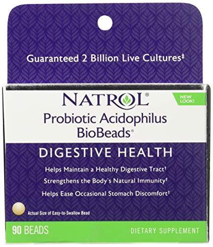(Natrol Probiotic Acidophilus BioBeads - 90 Beads)