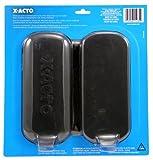 5 X X-ACTO X5285 13 Blades in Zippered Storage Case, Black
