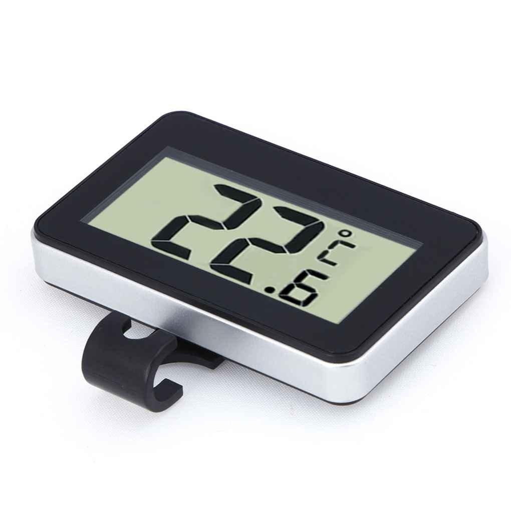 Temperatura Ambiente Congelador Medidor de Temperatura Helada Advertencia Demino Digital Colgando Nevera Congelador Sala indicador de Temperatura del term/ómetro a Prueba de Agua 20 ℃ a 60 ℃