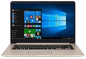 "ASUS VivoBook S15 S510UF-BR452T - Ordenador portátil de 15.6"" HD (Intel Core i7-8550U, 8GB RAM, GeForce MX130, 256 SSD, Windows 10 Home) Metal Oro - Teclado QWERTY Español"
