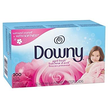 Downy April Fresh Scent Dryer Sheets 200 Count TRG