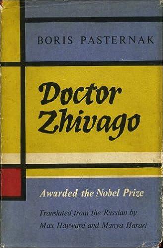 Doctor Zhivago Book Pdf