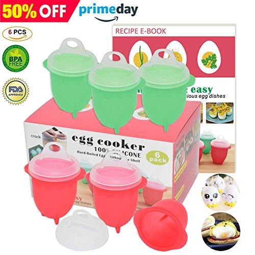 Microwave Egg Cooker-Silicone Egg Maker for Har...