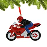 Personalized Sport Bike Christmas Ornament for Tree
