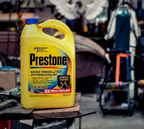 Concentrated Antifreeze - P-restone Original Extended Life 50/50 Prediluted Antifreeze/Coolant, 1 gal.