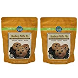 Authentic Foods Gluten Free Blueberry Muffin Mix - 2 Pack