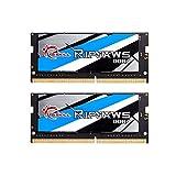 G.SKILL F4-2400C16D-16GRS Ripjaws SO-DIMM Series 16GB (2 x 8GB) 260-PinDDR4-2400MHz
