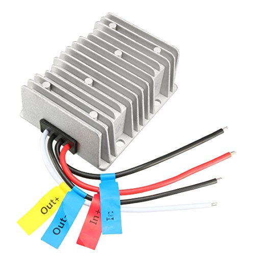 Price comparison product image uxcell Voltage Converter Regulator DC/DC DC 12V Step-Up to DC 19V 15A 285W Power Boost Transformer Waterproof