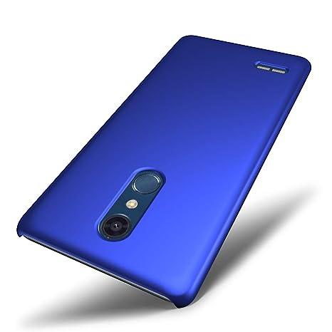 SLEO Funda para LG K11 2018/LG K30 2019 PC Back Cover de Parachoques Duro Cubierta Protectora para LG K11 2018/LG K30 2019 - Azul