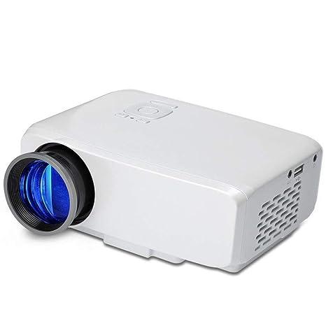 Mini proyector portátil, proyector LED de 4 Pulgadas con HDMI y ...