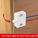 2X Cabinet Lamp Switch Wardrobe Touch Switches