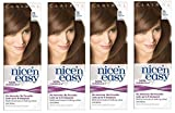 Clairol Nice N' Easy Hair Color #76, Light Golden Brown (Pack of 4) Uk Loving Care + FREE Old Spice Deadlock Spiking Glue, Travel Size.84 Oz