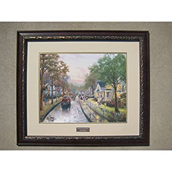 thomas kinkade 50th anniversary edition framed print 30 x26