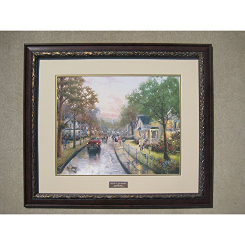 "Thomas Kinkade 50th Anniversary Edition Framed Print 30""x26"""