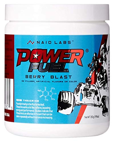 Power Fuel Most Powerful Pre Workout Formula with 300mg of Caffeine and 125mg of Theacrine (Fuel Creatine Pump)