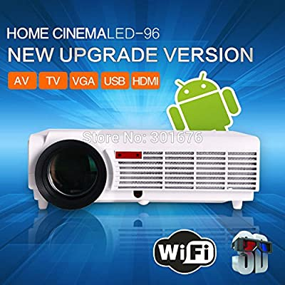 MU Nuevo modelo 5500 lúmenes inteligente Android 4.2 TV LCD ...
