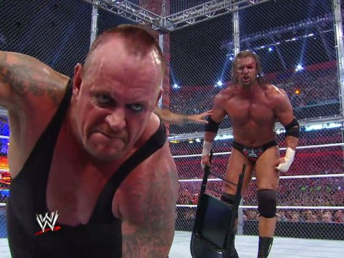 The Undertaker vs. Triple H Hell In A Cell WrestleMania XXVIII April 1, 2012 (Hell In A Cell Undertaker Vs Triple H)