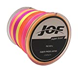 EEOZY SuperPower Braided Fishing Line - Abrasion Resistant Braided Lines – Incredible Superline – Zero Stretch – Smaller Diameter – A Must-Have!
