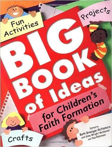 Amazon Com Big Book Of Ideas For Children S Faith Formation Fun