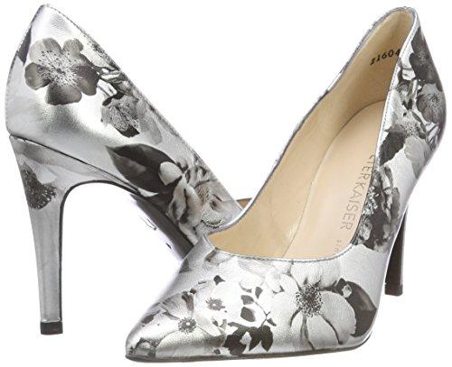 Danella Escarpins Femme Kaiser Blossons Gris silber Fermé Peter Bout 672 R5EOqx