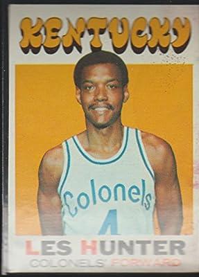 1971-72 Topps Les Hunter Kentucky Colonels Basketball Card #157