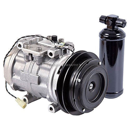OEM AC Compressor w/A/C Drier For Toyota 4Runner 1984 1985 1986 1987 - BuyAutoParts 60-87616R4 New