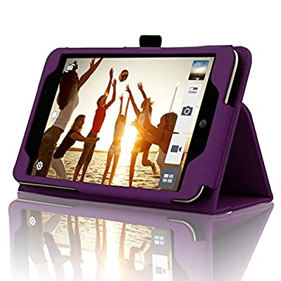 ASUS MeMO Pad 7 LTE Case - ACdream AT&T ASUS MeMO Pad 7 LTE Protective Case [with Auto Wake Sleep Feature] - Premium PU Leather Smart Cover Case for AT&T ASUS MeMo Pad 7 LTE GoPhone Prepaid Tablet ME375CL by ACdream