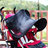 Whitelotous Universal Folding Baby Stroller Sunshade Baby Trolley Cover Net Awning Accessories
