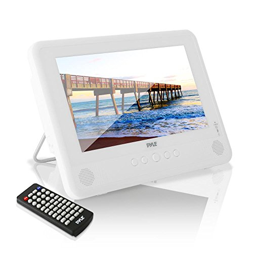 "Pyle 10.1"" Portable DVD Player IP67 Waterproof  Car Headrest"