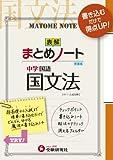 中学/国文法まとめノート