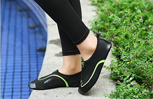 Summer Water Shoe Socks Dry Quick Barefoot Shoes Women's Black Aqua Men's Yoga 7wfq1