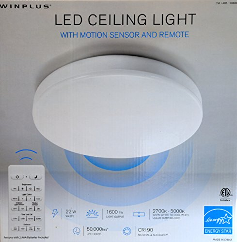 Led Ceiling Light Motion Sensor