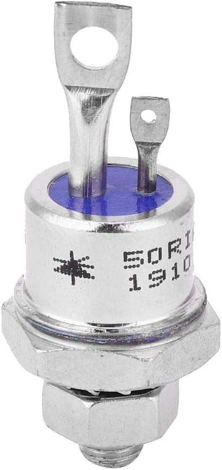 2 Unids 50RIA120 SCR Silicon Rectificador Controlado Tornillo Tipo Tiristor para Control de Motor