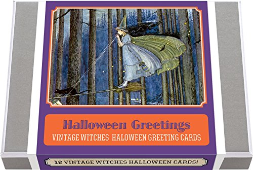 Halloween Greetings - Vintage Witches Halloween Greeting Cards