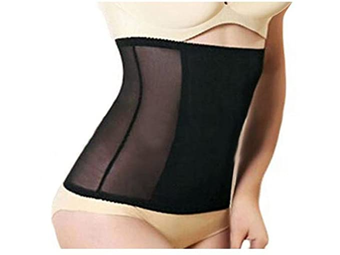 f180cad504e Invisible Waist Tummy Trimmer Cincher Instant Body Shaper Girdle Corset  Slimming Belt (XS Fits 8