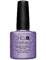 CND Shellac Nail Polish, Alluring Amethyst, 0.25 fl. oz.